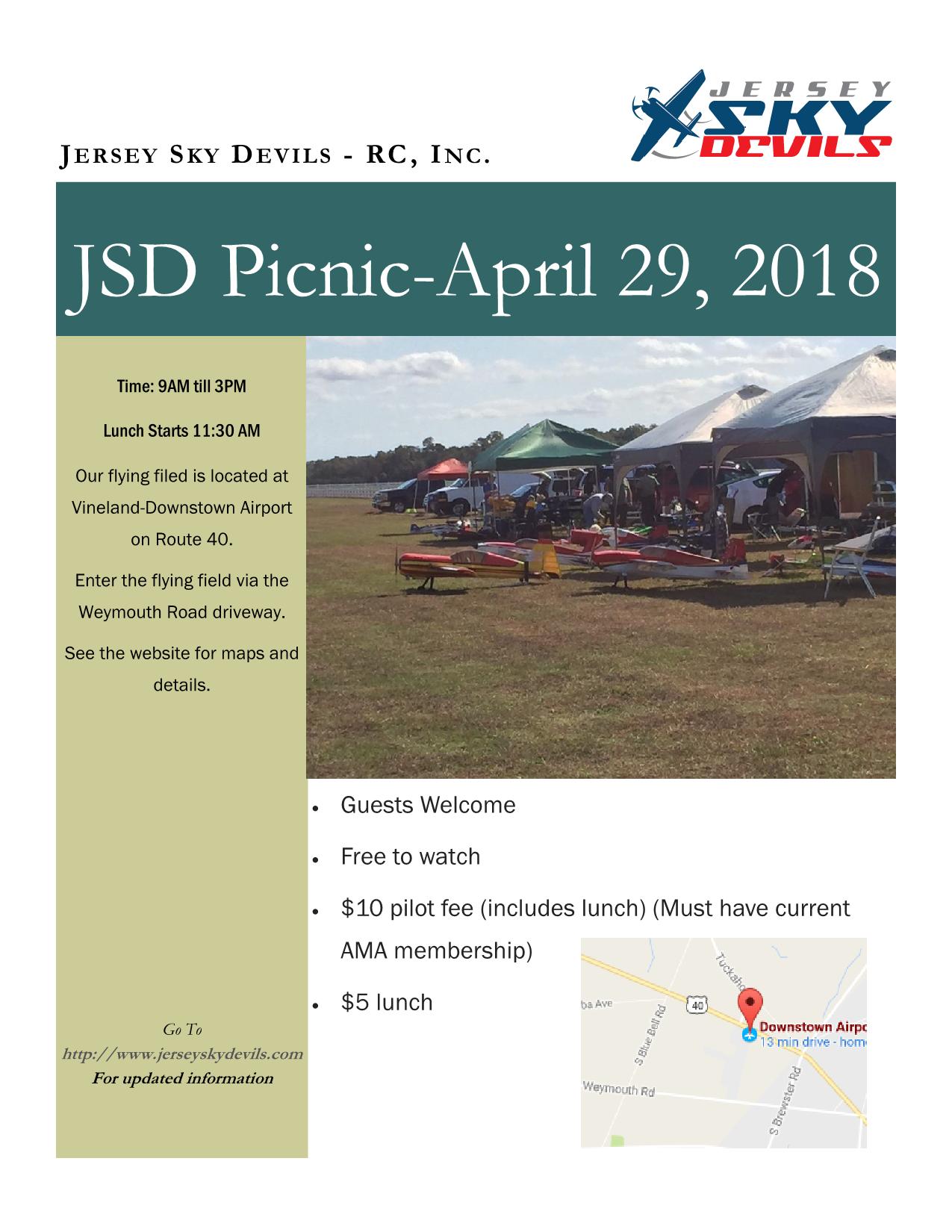 JSD Picnic Flyer 20180429